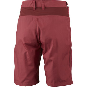 Lundhags Lykka II Shorts Dame garnet/dark red